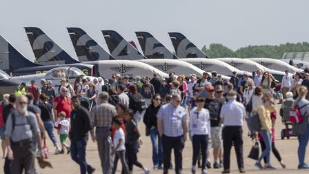 The 2019 Duxford Air Festival welcomed over 23,000 visitors over the weekend to IWM Duxford. Picture