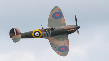 Supermarine Spitfire Mk1a at the Duxford Air Festival 2019. Picture: Gerry Weatherhead