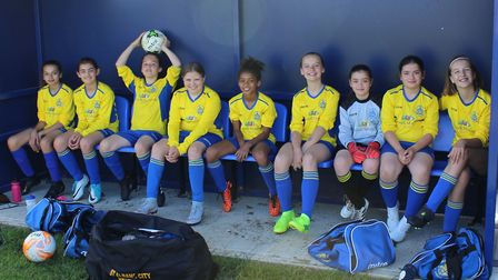 St Albans City Youth U11 Girls North were impressive as they reached the semi-final of the Letchwort