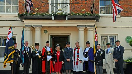 Commermorations of the 75th anniversary of D-Day took place in Huntingdon