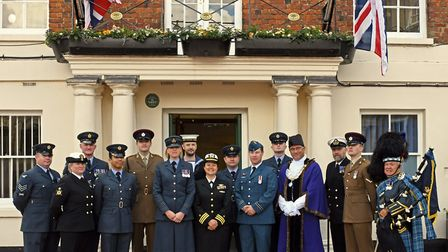 75th anniversary of D-Day commemorations at Huntingdon Hall.