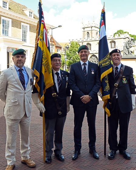 75th anniversary of D-Day at Huntingdon Town Hall
