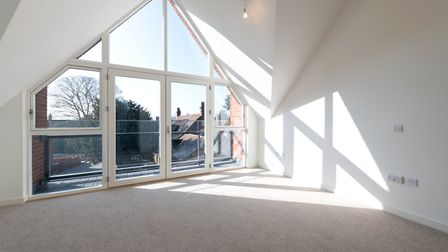 Inside the show home at the Oak Tree Gardens development on Hatfield Road, St Albans. Picture: Space