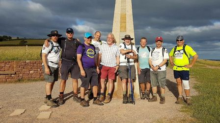 The Men of Fields are embarking on an 85-mile walk for Rennie Grove and the Hospice of St Francis.
