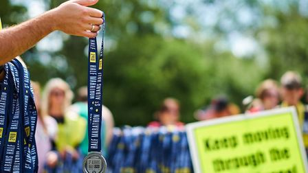 The 38th annual St Albans Half Marathon in 2019. Picture: Greg Toth