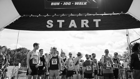 The 38th St Albans Half Marathon in 2019 saw thousands of runners and spectators. Picture: Greg Toth