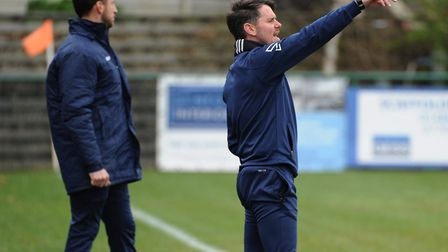 St Neots Town manager Marc Abbott has drafted in seven new players already this summer. Picture: MAR