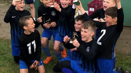 St Albans City Youth's U10 West were the winners of the Knebworth tournament.