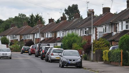 Oakwood Drive is home to Oakwood and Beaumont schools - two of St Albans' most sought after. Picture