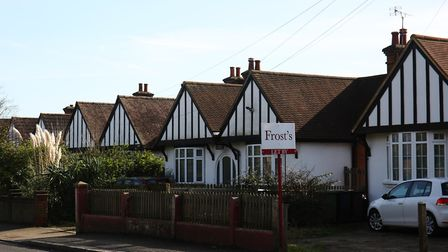 Bungalows opposite Oakland College, on Hatfield Road, St Albans. Picture: Danny Loo
