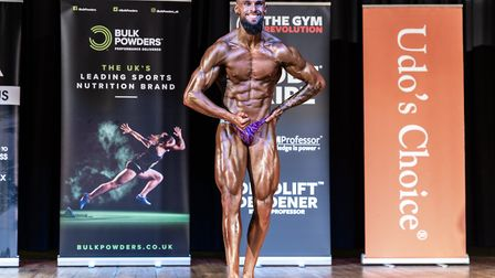 St Albans person trainer Rory Golden came in third place at The World Natural Bodybuilding European