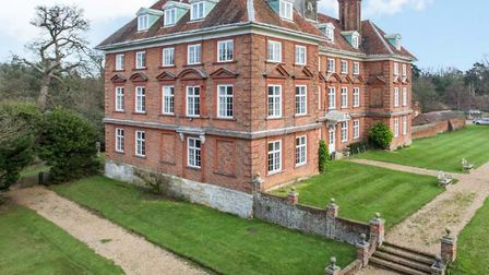 Tyttenhanger House is set within 42 acres of parkland. Picture: Archant