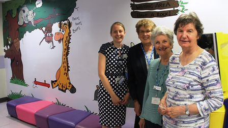 The Friends of Hinchingbrooke Hospital have boosted patient care in the Audiology and Catering depts