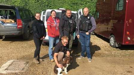 Missing puppy Clodagh was found by police in Bedfordshire. Picture: Rebecca Goodwin