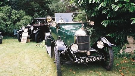 A Morris Bullnose will be among the cars at the Hemingford Abbots car and flower show