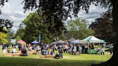 The Oaklands College Summer Fair took place in St Albans over the weekend. Picture: Oaklands College