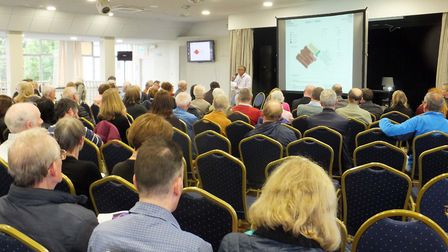 A meeting was held by West Herts Hospitals Trust and Herts Valleys Clinical Commissioning Group to d