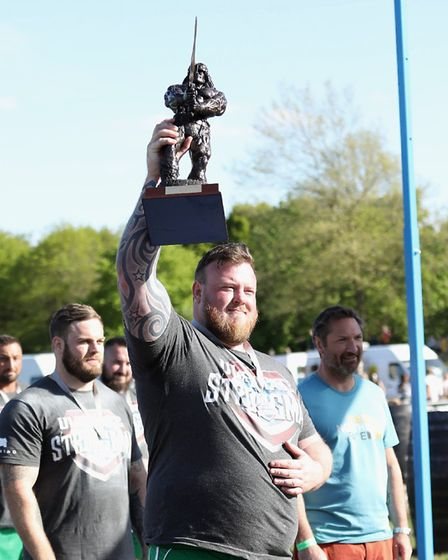 Gareth Blake, England's Strongest Man. Picture: Ultimate Strongman