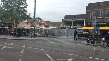The former BHS site on St Peter's Street in St Albans.