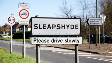 Welcome to Sleapshyde. Picture: DANNY LOO