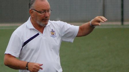 St Albans City manager Ian Allinson. Picture: DAVE TAVENER
