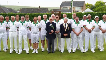 The Hunts team, pictured ahead of their Adams Trophy defeat to Lincolnshire last Saturday, are, from