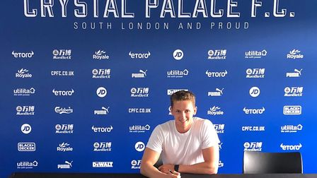 Lewis Hobbs has been signed to Crystal Palace after training with EDSV academy,