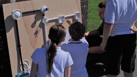 Guilden Morden Primary School pupils enjoyed a practical day planned and led by staff at constructio