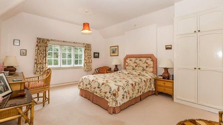 One of the property's five double bedrooms. Picture: Ashtons