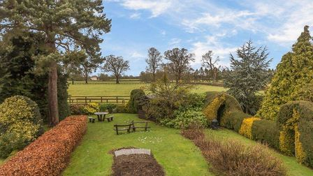 Externally the exceptional plot extends to around a third of an acre. Picture: Ashtons