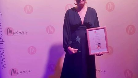 Alison Callan. who is orginally from St Albans, at the MPower awards for mums in business. Picture: