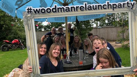 The Woodman Inn relaunch party in Nuthampstead. Picture: Jenna Johnson
