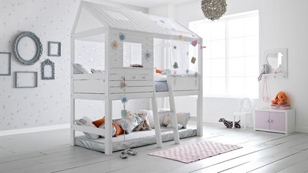 Climbing: Silversparkle Children's Treehouse High Hut Bed. Prices from 1,475. www.cuckooland.com