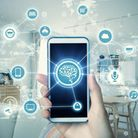 Your home at your fingertips: Smart devices can be controlled by smartphone. Picture: iStock/PA