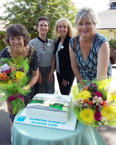 Mayor of St Albans Cllr Janet Smith and MP Anne Main attended an open day at Allington Court and Ten