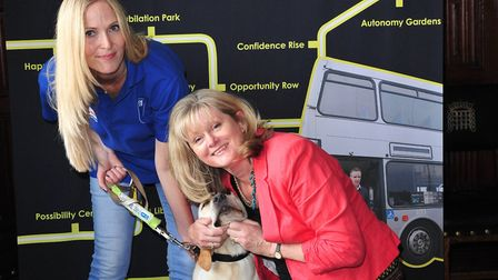 St Albans MP Anne Main is supporting charity Guide Dogs' Access All Areas campaign. Picture: Theodor