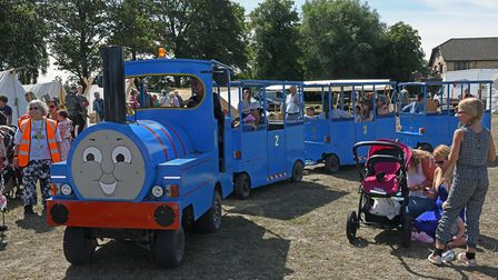 Last year's Huntingdon Carnival took place in Riverside Park. Picture: ARCHANT