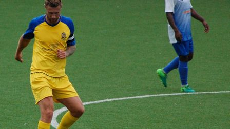 David Noble made his first appearance for St Albans City in seven months in the pre-season friendly