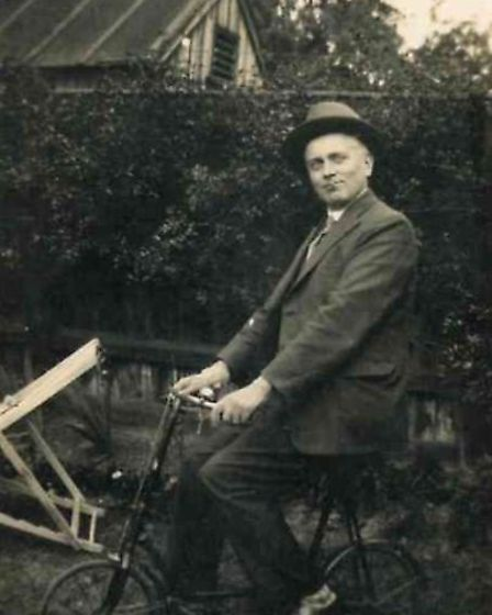 These pictures were found in a secret compartment of a wooden box donated to a Rennie Grove charity
