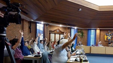 Councillors voted unanimously to declare a climate emergency in St Albans. Picture: Sustainable St A