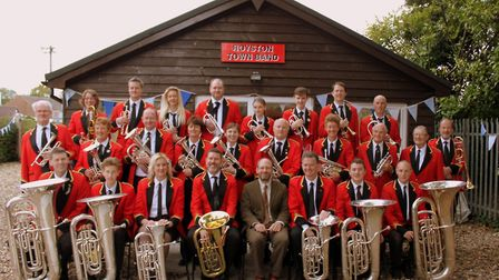 Royston Town Band will be at Paxfest on July 13.