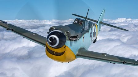 The Flying Legends air show at IWM Duxford will feature displays by the Hispano Buchon. Picture: Joh
