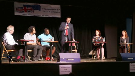 Harpenden for Europe held a debate event. Picture: Picasa