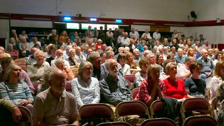 There were 270 people at the Harpenden for Europe event. Picture: Picasa
