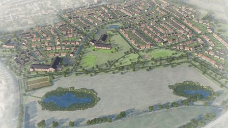 A sketch of the Rothamsted Research and LAT proposal land. Picture: Rothamsted Research/LAT