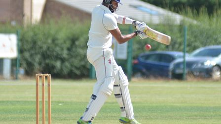 Nick Kumpukkal starred with a century and four wickets for St Ives & Warboys.