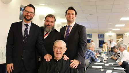 St Columba's College old boys were invited to celebrate with Brother Clement on his birthday.