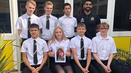 A group from Royston Schools Academy Trust are shaving their heads in memory of Rachel Albone's mum