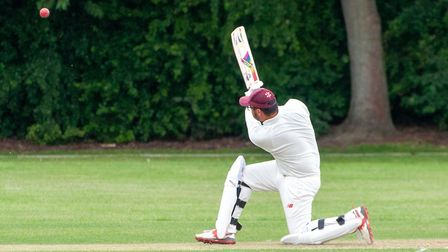 Sheraz Ali hit 30 to help Huntingdon & District to success at Blunham. Picture: MARTYN ROWBOTHAM