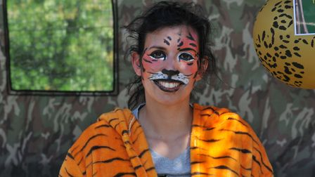 Tanya Erzinclioglu from For Tigers, was one of many who did a sponsored walk from Cambridge town cen